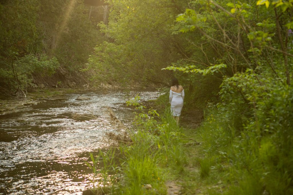 Jen in woods 3